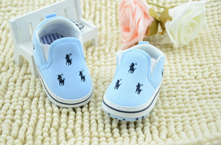 New baby toddler shoes infant shoes polo baby shoes soft bottom antiskid baby first walker shoes 3pair/lot(China (Mainland))