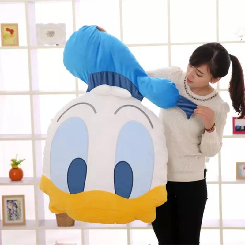 New Arrived High Quality Big Size Cartoon Plush Pillow Mickey Mouse Hello Kitty Melody Soft Stuffed Cushion(China (Mainland))