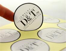 Custom Printed Brand Logo/Name Paper Adhesive Stickers Customized Virgin Hair Waterproof/Sunproof Label Stickers 1000pcs(China (Mainland))
