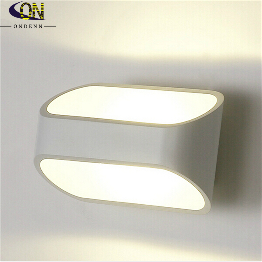 Led Indoor Wall Lamps : LED Indoor Wall Sconce 5W COB Chip Led Wall Lamps Waterproof Modern Led Wall Light Warm White ...