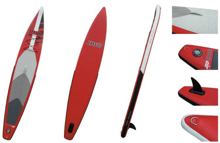 "380cm / 12'5"" Popular Inflatable Stand up Paddle Board, Sup Board , Surf Board , Racing board(China (Mainland))"