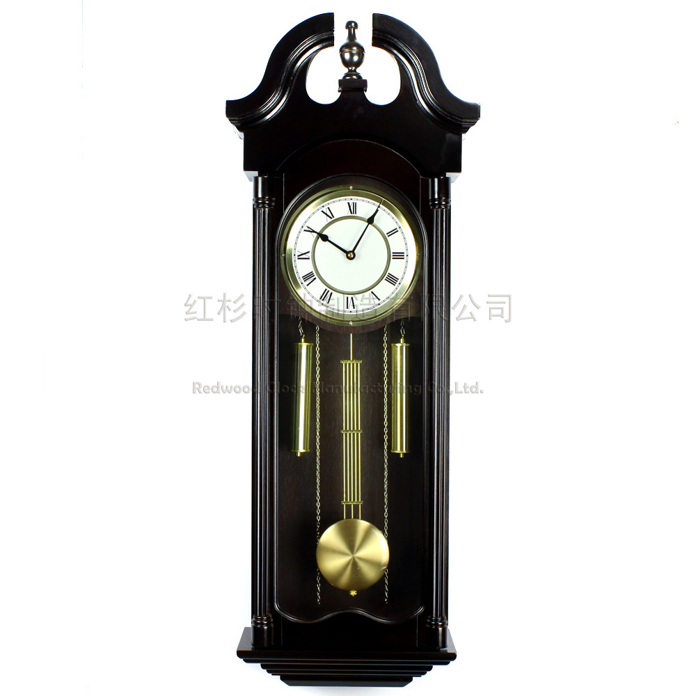 Buy European Antique Clocks Wood Living Room Wall Clock Fash