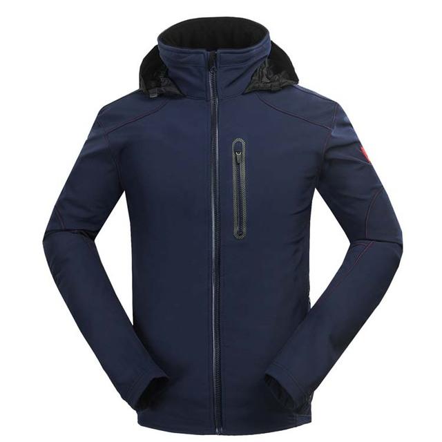 Новый вентилируемые куртка мужчины водостойкой пальто софтшелл ветровка Drak синий ...