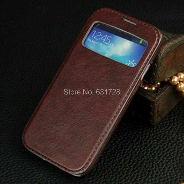 For Samsung Galaxy S4 S 4 I9500 9500 New Hot Fashion phone Leather case Cover Cell phone protector Covers Shell Skin Cases(China (Mainland))