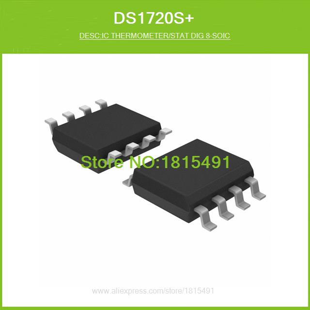 Free Shipping DS1720S IC THERMOMETER/STAT DIG 8-SOIC 1720 DS1720 1720S 8-SO 10pcs(China (Mainland))