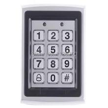 rfid card cassa del metallo della tastiera 125 khz carte di prossimità entrata serratura sistema di controllo accessi impermeabile ingresso wiegand(China (Mainland))