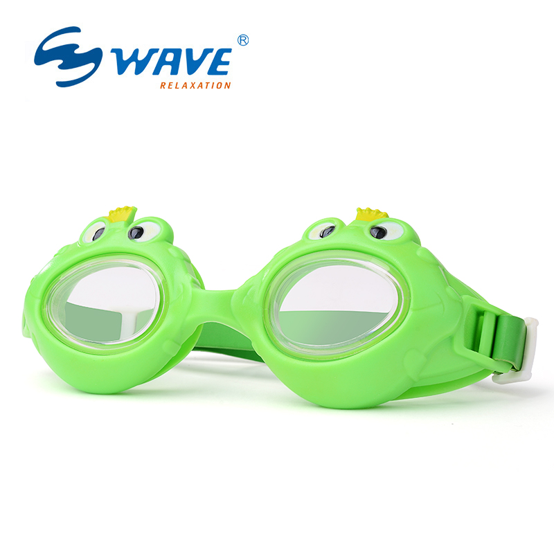 WAVE Kid's Carton Swimming Goggles Crab/shark/frog Design Swim Glasses for Children Cute Swimming Goggles G235(China (Mainland))