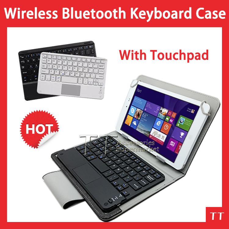 Ultra Slim wireless bluetooth Keyboard with touchpad case For mipad xiaomi 7.9tablet case+free 3 gifts<br><br>Aliexpress