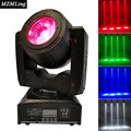 60W RGBW 4in1 Led Beam 8 16channels DMX512 LED Display Moving Head Light Professional Stage DJ