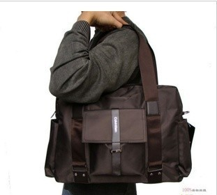The trend of Korean version of the new men's casual bag travel bag! Free shipping!