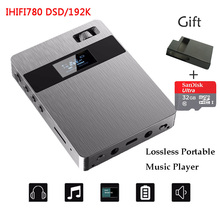 2017 New XUELIN IHIFI780 Portable Audio Lossless HIFI Music Player DSD64 192KHz High Quality Mini Sport MP3 Player+32G TF Card(China (Mainland))