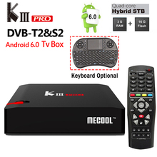 Buy DVB-T2 DVB-S2 KIII Pro Android 6.0 TV Box 3GB/16GB Amlogic S912 Octa core 2.4G/5G Dual WiFi BT4.0 1000M H.264 4k Media Player for $125.00 in AliExpress store