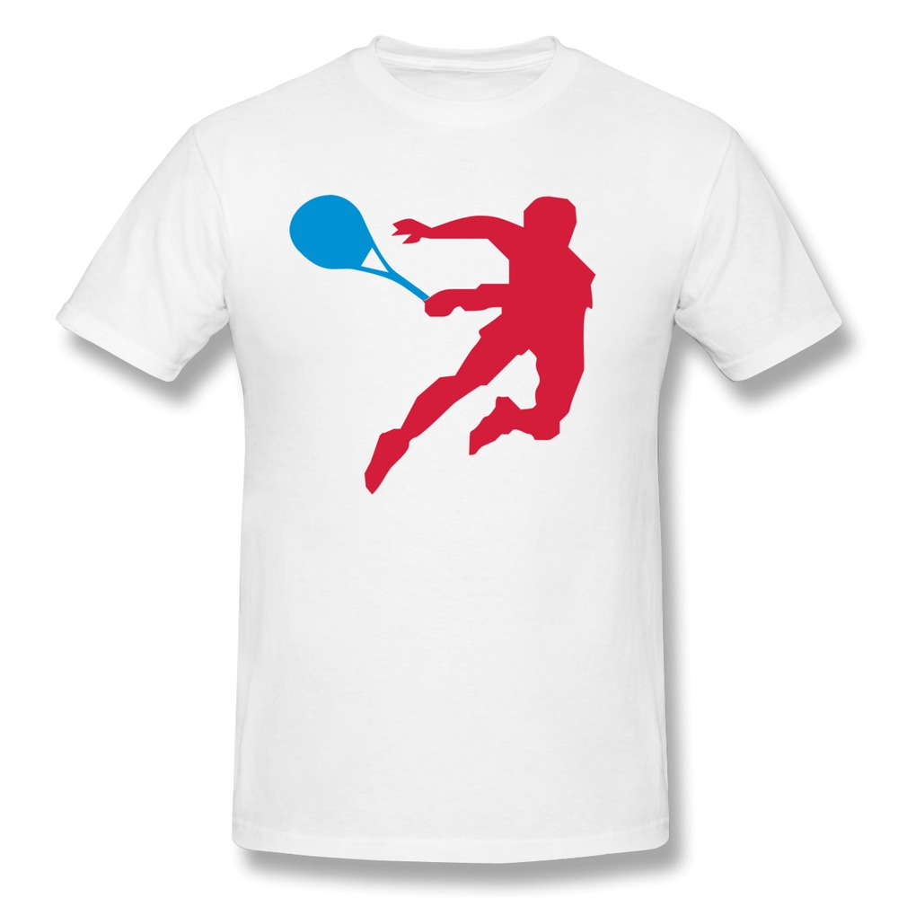 2015 Print tennis sports game fitness Men t-shirt Nice boyfriend Short Sleeve 100% Cotton 3D T Shirt Hot Selling(China (Mainland))