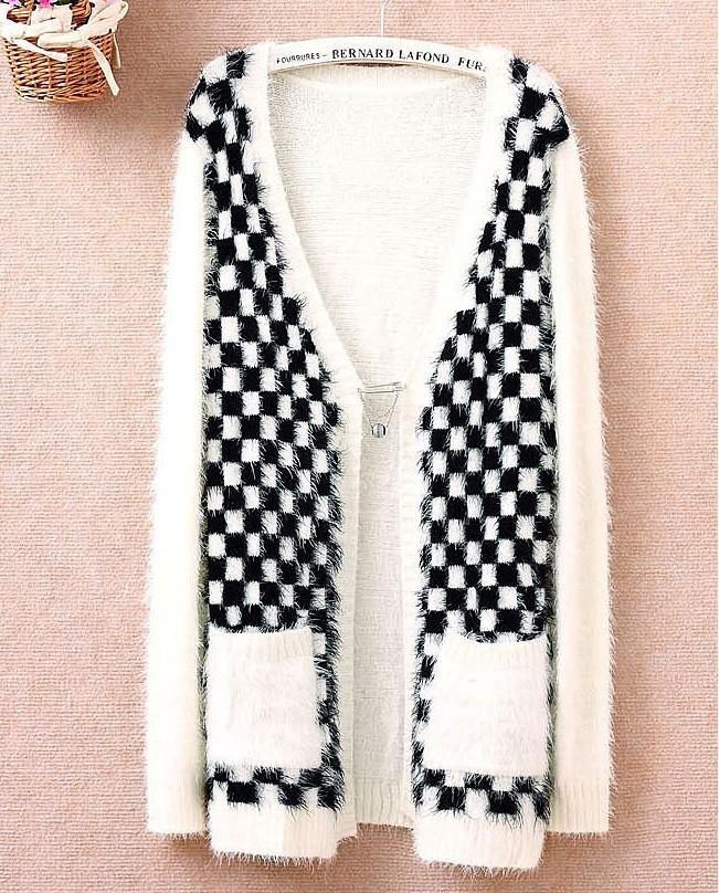 Popular Long White Sweater Coat-Buy Cheap Long White Sweater Coat