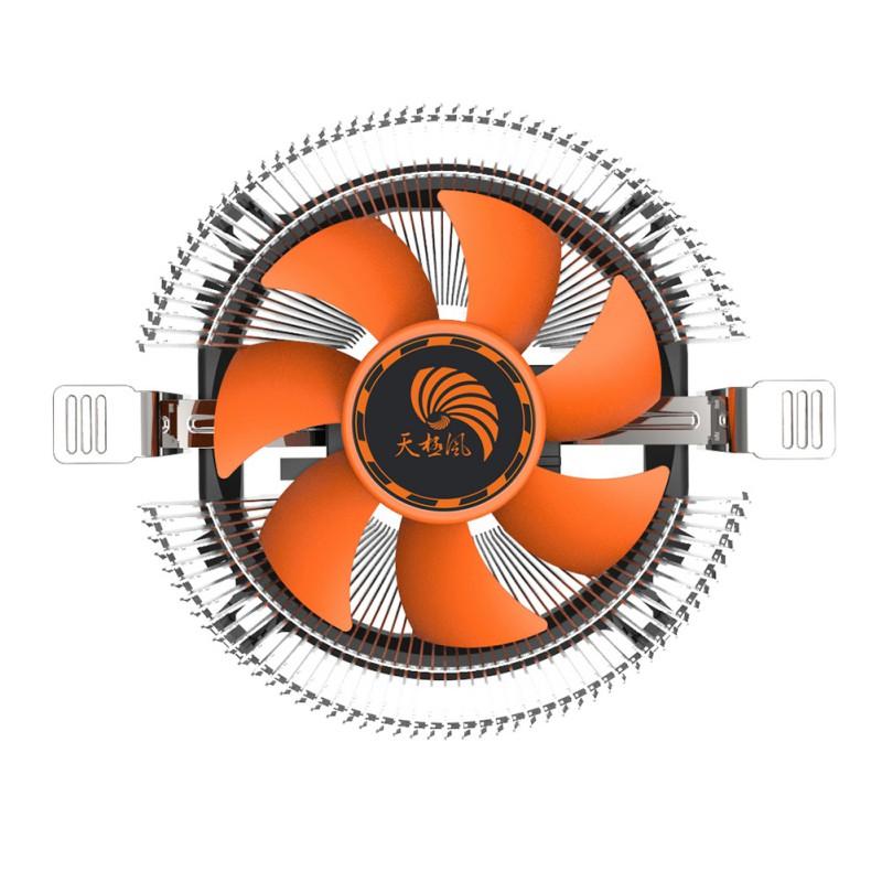 Brand New 2017 High Quality PC CPU Cooler Cooling Fan Heatsink for Intel LGA775 1155 AMD AM2 AM3 A97(China (Mainland))