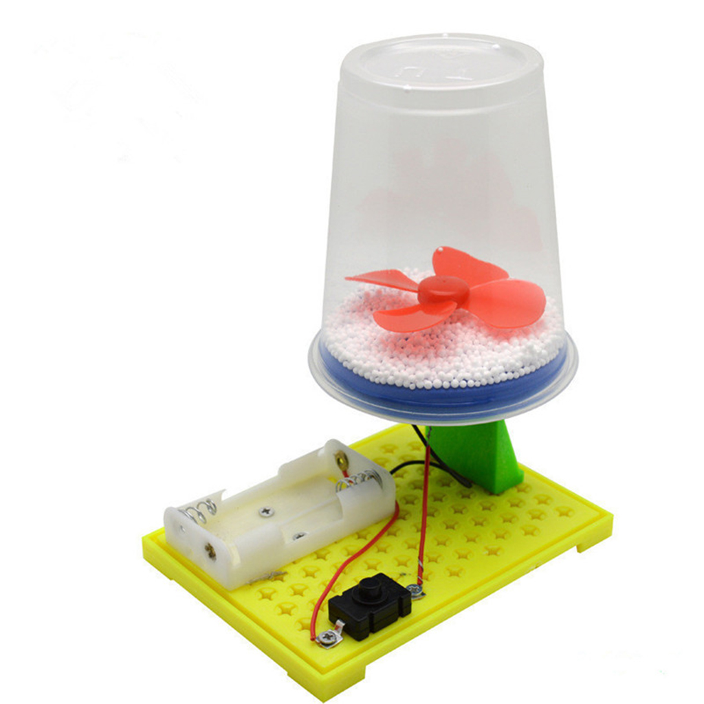 Kids Science Experiment Kits - DIY Electric Electrostatic Snow & Colorful Fiber Optic Lights Model Toy, Creative Toys