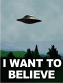 X Files I Want To Believe DIY frame Posters and print 12x18 20x30 24x36 27x40 inch
