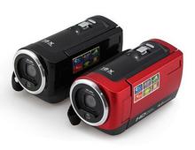 Black colcor 16MP Waterproof Digital Camera 16X Digital Zoom Shockproof 2.7″ SD Camera black