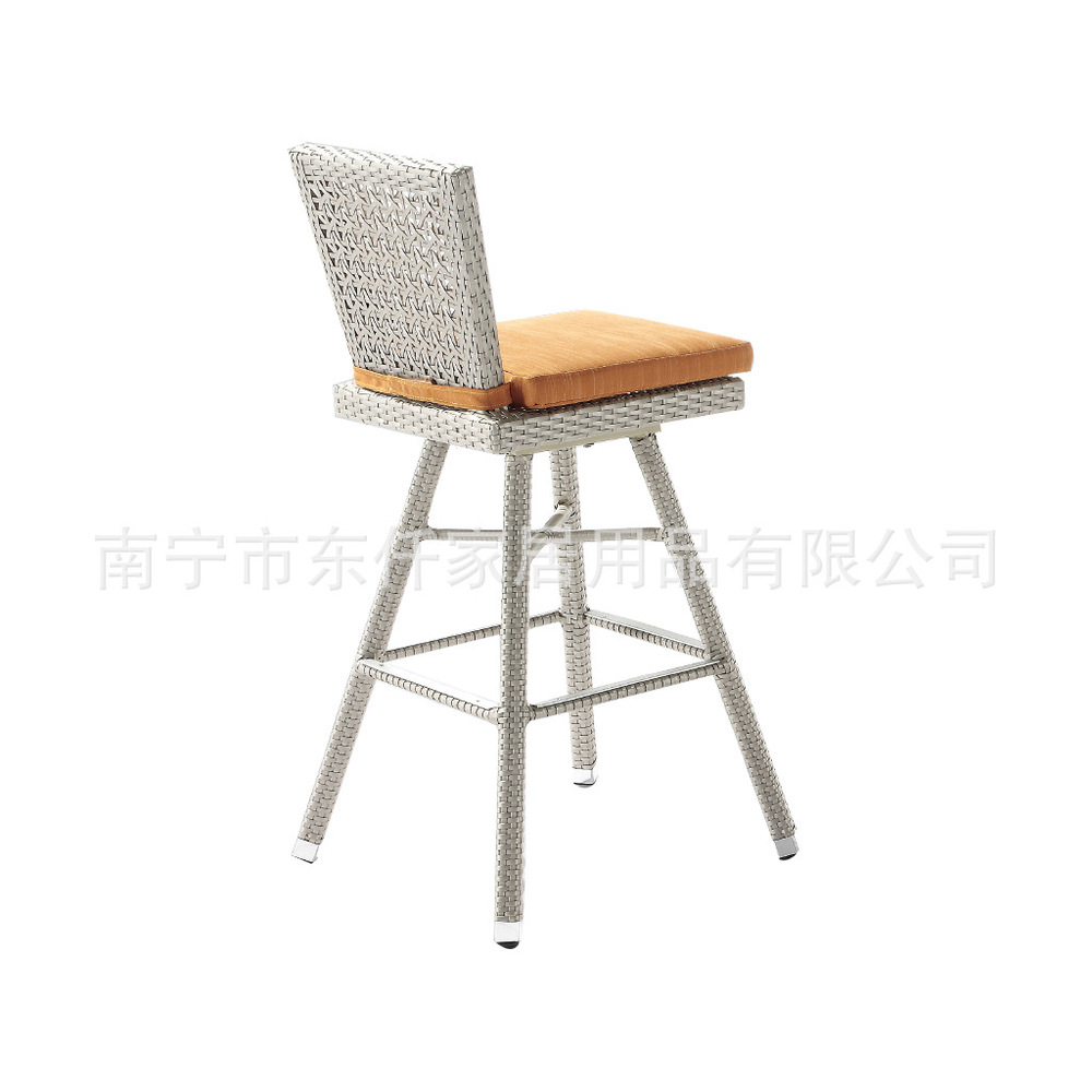 Rattan outdoor furniture rattan outdoor bar chairs plastic rattan tall bar chairs indoor and outdoor(China (Mainland))