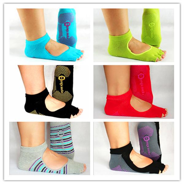 Unisex Yoga Socks – Antiskid – Backless
