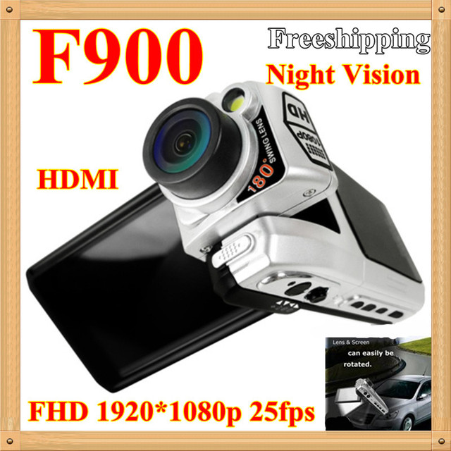 Holiday Sale!Car DVR 2.5 inch F900L with 1920*1080P 25 fps HDMI HD Vehicle Camera