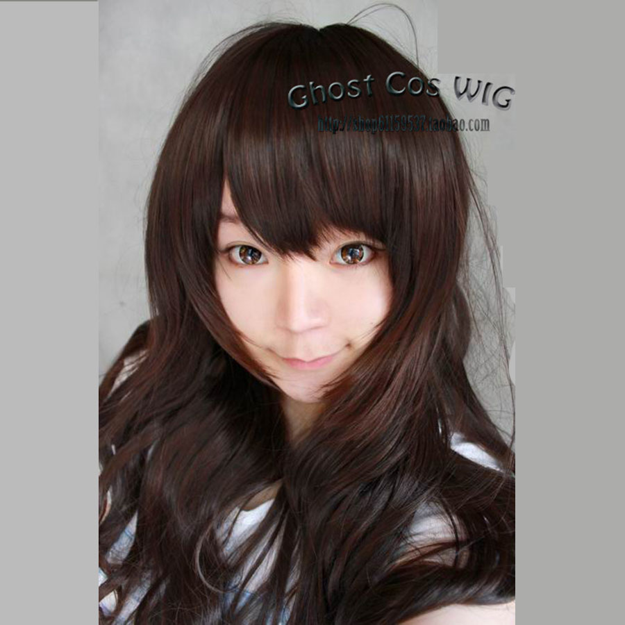 Axis Powers Hetalia APH Taiwan Cosplay Wig 70cm Long Wavy Synthetic Hair Harajuku