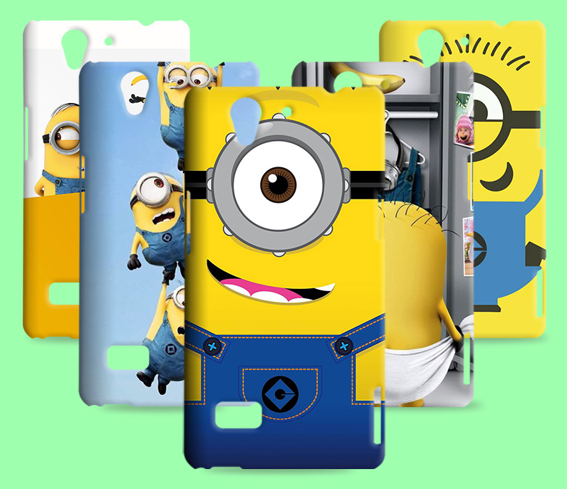 Despicable Me TPU Case For OPPO Find Mirror R819 A11W A30 A35/F1 Yellow Minions Cover For OPPO A31T R1207 A31C A33T A33 A37 A37M(China (Mainland))