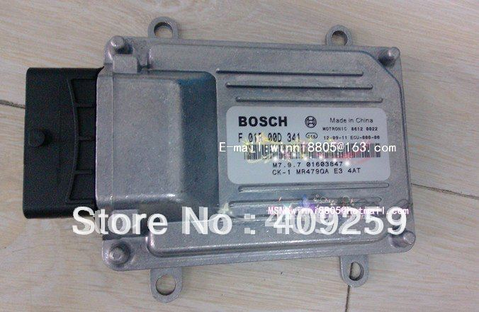 For Geely Free Cruiser 4AT car engine computer board ECU(Electronic Control Unit) / F01R00D341/M7.9.7 01603847/MR479QA(China (Mainland))