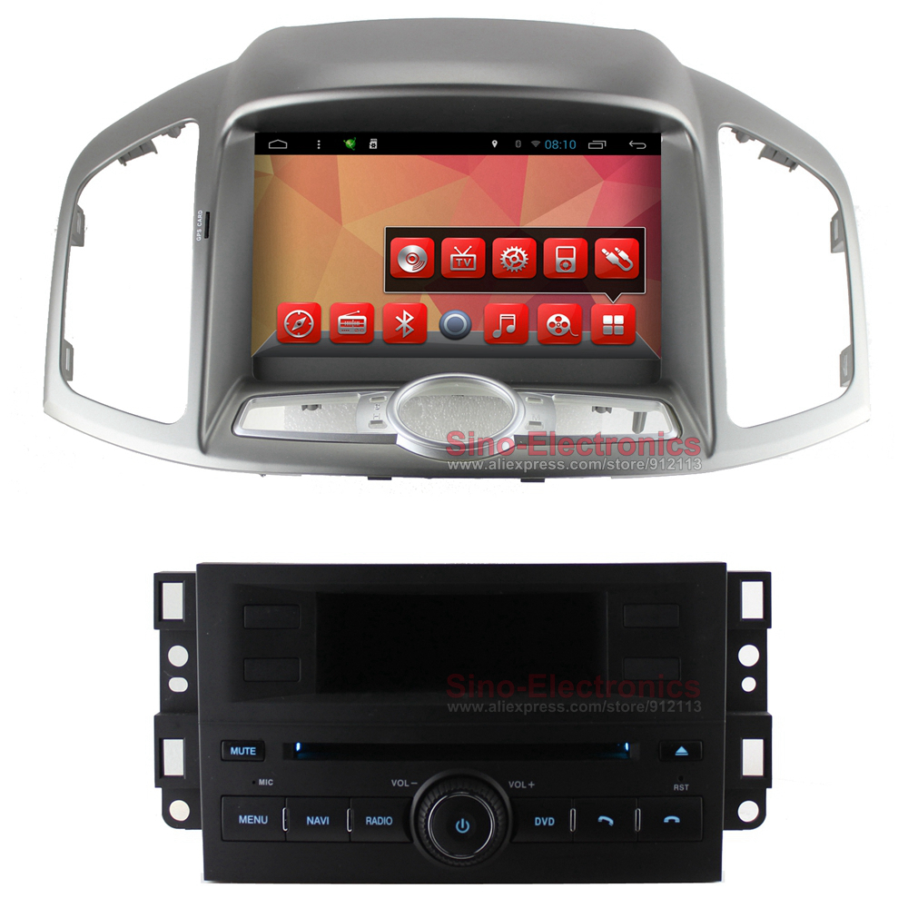 Quad Core Android Car DVD GPS for Chevrolet Captiva 2012-2014 with 1024x600 Screen BT Radio RDS Wifi 3G Mirro-link 8GB Map Card(China (Mainland))