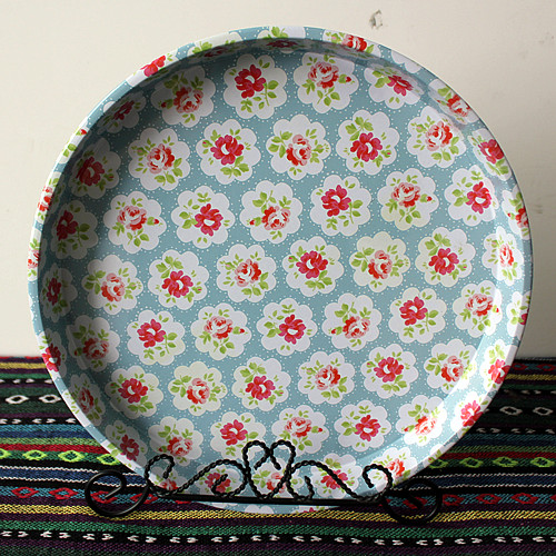Fruit snacks disc dessert plate decorative plate tin plate and oversized iron tray British disc(China (Mainland))