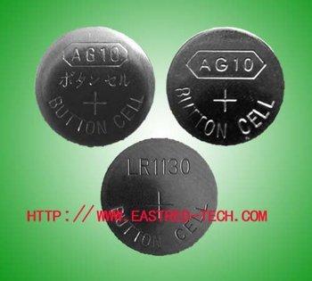 5000pcs/Lot, AG10 LR1130 alkaline button cell battery