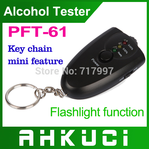 Free Shipping 5PCS/lot breathalyzer Alcohol tester 6360 keychain alcohol testing instrument the body of alcohol(China (Mainland))