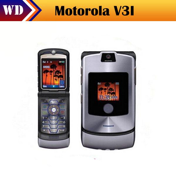 Original phone v3i mobile phone unlocked v3i mobile phone All GSM Carrier work AT&T T-Mobile(China (Mainland))