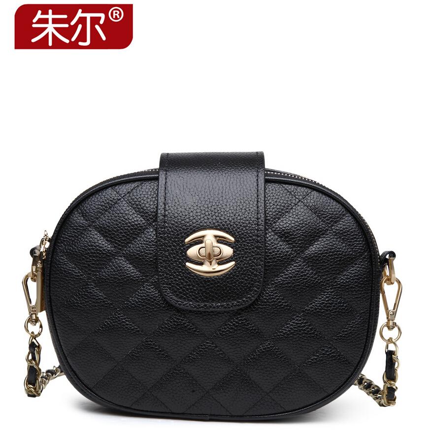 Фотография ZOOLER famous fashion brand women messenger bag 100% genuine leather women handbags small geometric zipper women shoulder bags