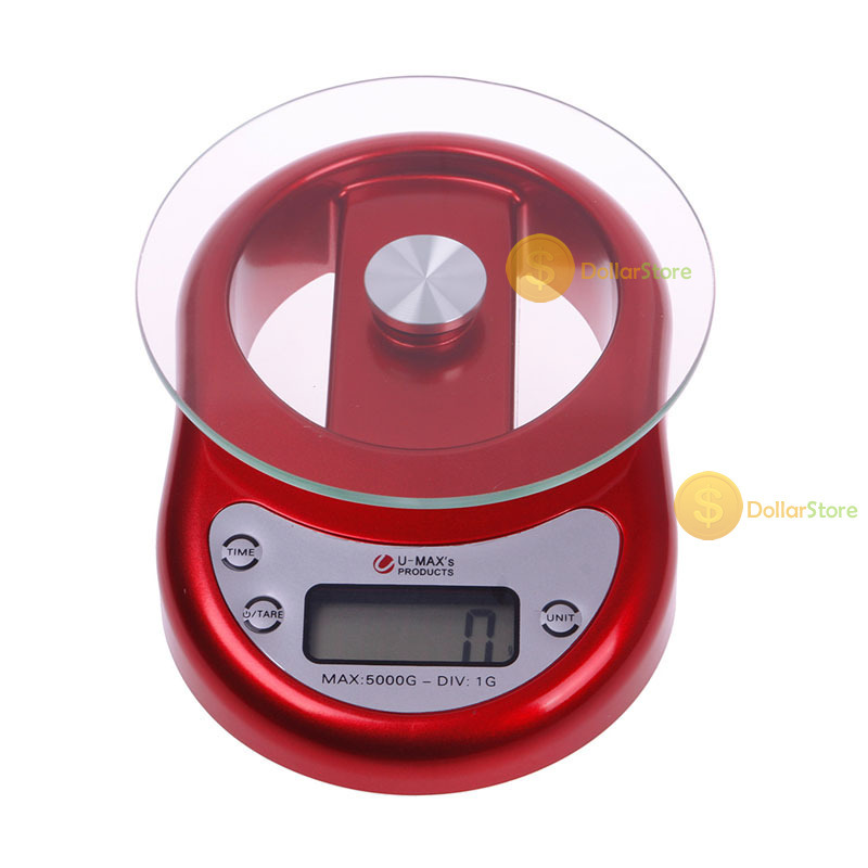 DollarStore buyable 5kg 1g Glass Platform Digital LCD Diet Food Kitchen Clock Timer Function Scale Excellent new(China (Mainland))