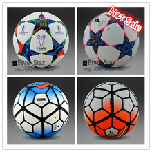 Hot Sale 2015 Champion League Soccer Ball Berlin Premier League soccer ball football TPU Granules Slip-resistant Official size 5(China (Mainland))