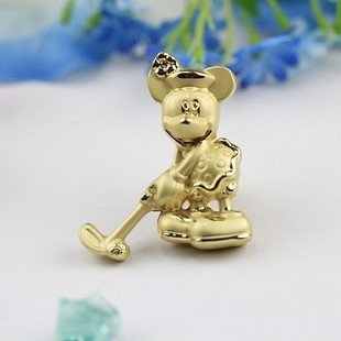 Cartoon Handles for drawer/closet/cabinet Pearlized Gold Color C149 20 pcs/lot Free shipping