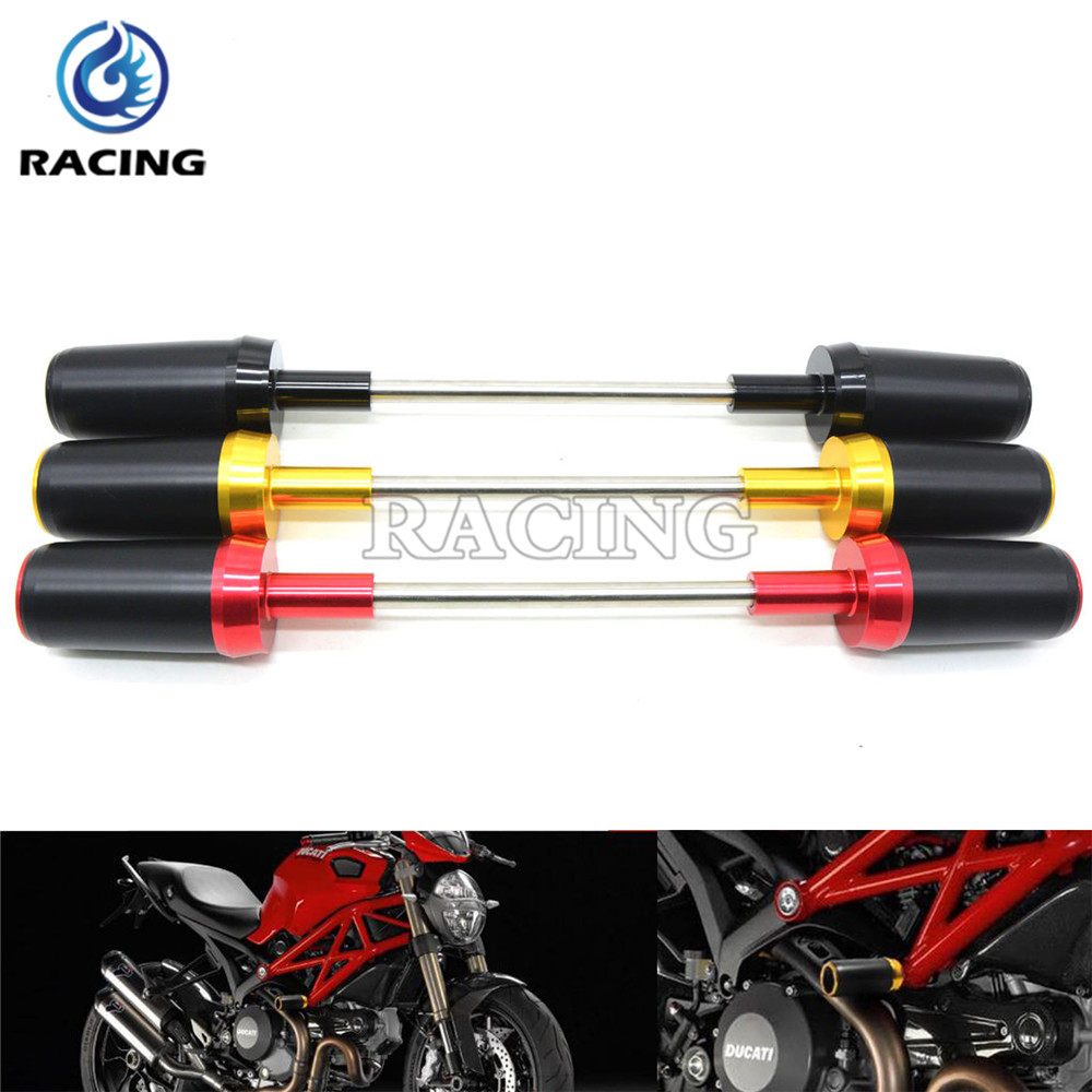 3 Colors optional Motorcycle Frame Sliders Crash Protector For Ducati DIAVEL 1200 2010-2015 monster S4R S2R 2006-2008<br><br>Aliexpress