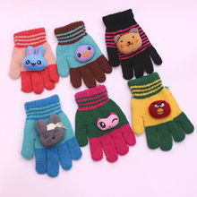 Baby Gloves 0-4 Years Warm Gloves Baby autumn and Winter Gloves Girls And Boys Fingers Infant Knitted Gloves Baby Accessories