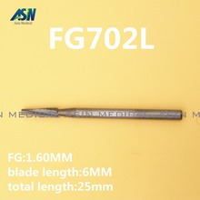 Buy 6 PCS high quality Dental Tungsten Carbide Burs FG Surg 702L for Extracting WisdomTeeth for $27.44 in AliExpress store