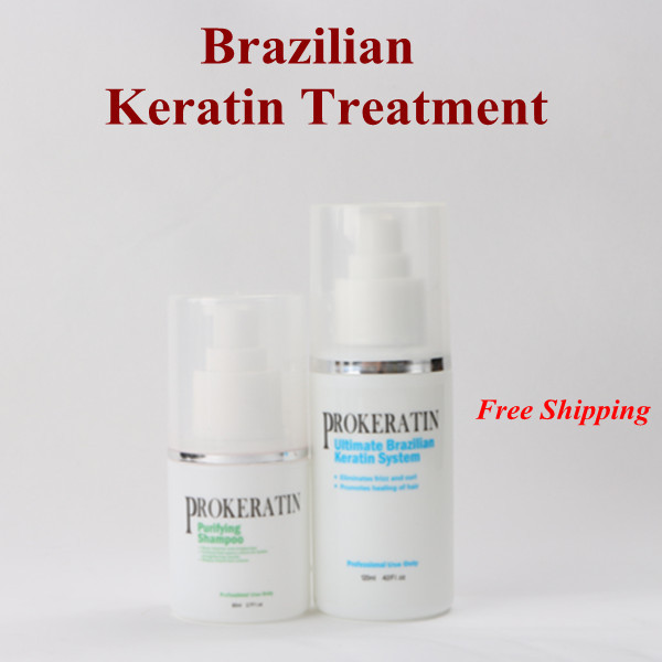 chocolate 5% Formaldehyde keratin treatment  keratin purifying Shampoo mini hair repair set for DIY at home<br><br>Aliexpress