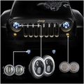 Pair 7 Halo Headlights Angel Eyes Pair 4inch Halo Fog Light Angel Eyes Pair Amber Signal
