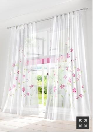 online kaufen gro handel gelb floral vorh nge aus china. Black Bedroom Furniture Sets. Home Design Ideas