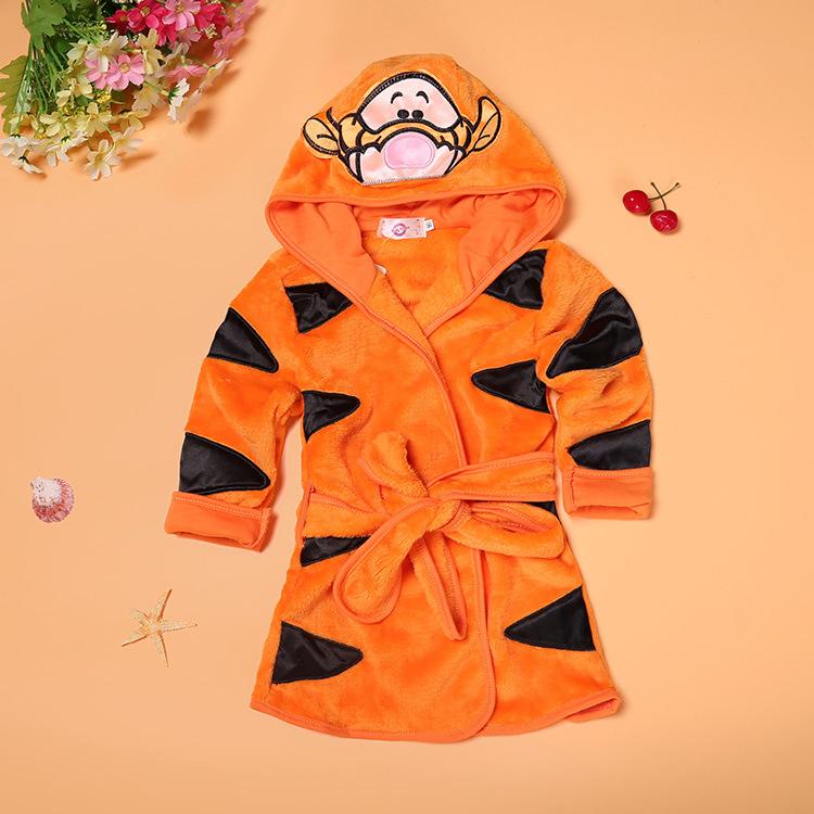 Банный халат с Микки; удобные пижамные комплекты для мальчиков; Пижама малышей undefined