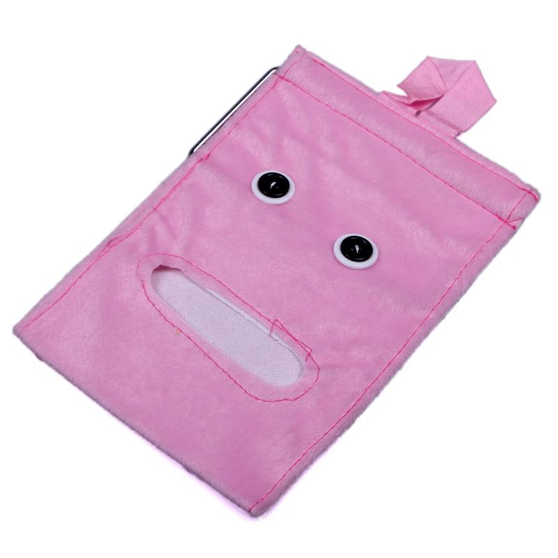 Pink New Durable House Environmental Essential Dawdler Paper Towel Receive Bag Storage Bag organizer(China (Mainland))