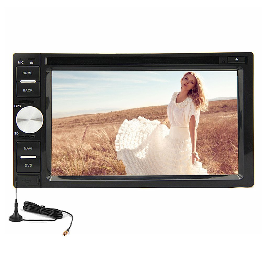 Universal Pure Android 4.2 6.2'' Doulbe 2 DIN GPS Car Stereo Audio DVD Player Radio Tuner Capacitive Digital TV+Rear Camera(China (Mainland))
