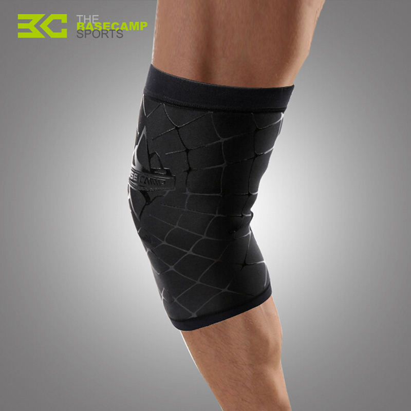 BaseCamp Outdoor Sport Knee Protector Cycling Riding Equipment Knee Pads Basketball Football Sports Bandage Knee Support(China (Mainland))