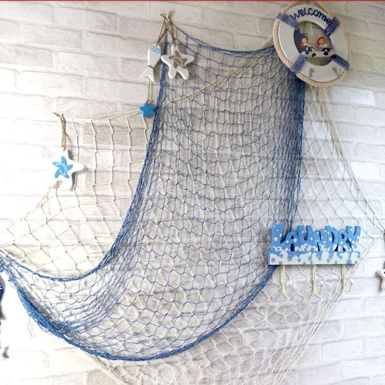 рыболовная сеть интерьерная