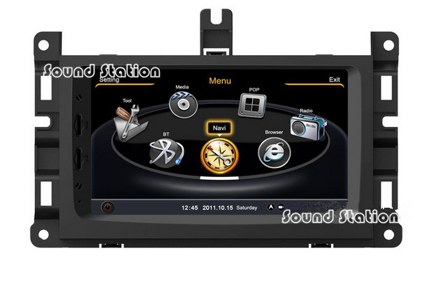 For Jeep Grand Cherokee 2014 2015 7'' Touch Screen Car Radio Stereo Bluetooth DVD GPS Navigation Navigator Multimedia System(China (Mainland))