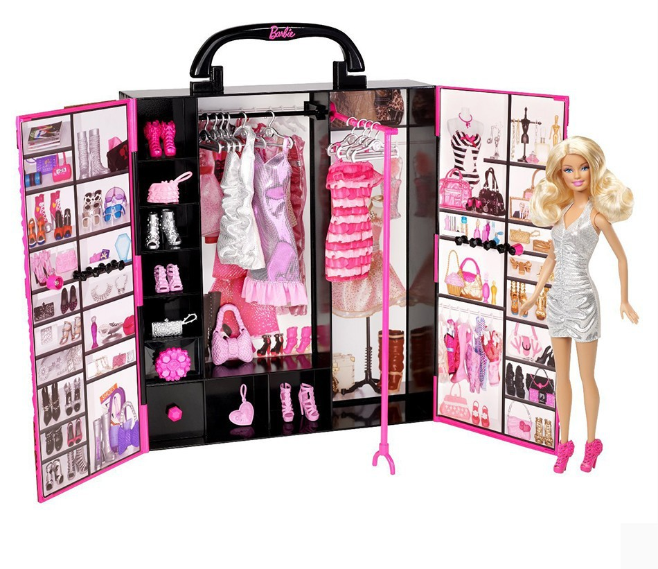 Barbie Original Doll Dream Lady Ultimate Closet Baby Toys Clothing Costumes Suit Gift American Dolls For Girls Juguetes X4833